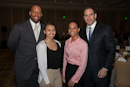 Pictured are: Michael James, Ashley Pirone, Ayana Green, Aaron Green. Photo courtesy of David Fox Photography
