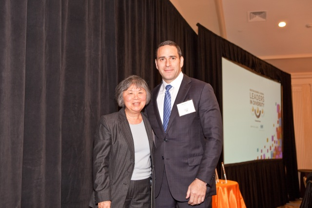 PSG President Aaron Green and AACA Board Chair Mary Chin