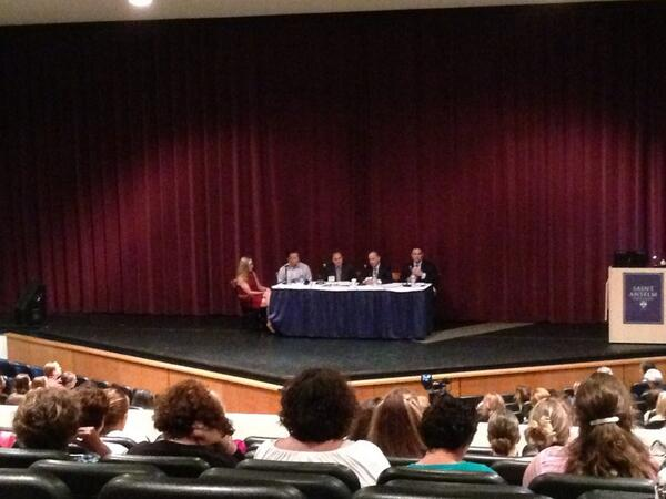 CEO panel discussing 'Gender at Work' at the 7th annual Women's Leadership Summit