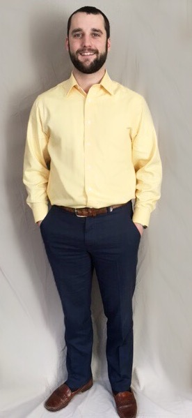 Job interview dress shirt color with yellow